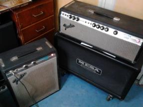 Fender Bassman et Musicmaster Bass