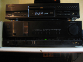 Luxman LV103µ et Pioneer PD-207